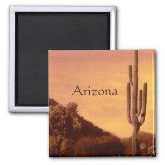 Imã Por do sol de Sonoran, arizona