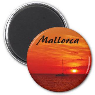 Imã Por do sol em Mallorca - ímã da lembrança