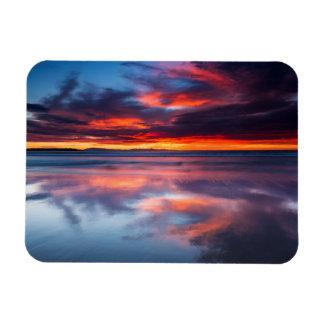 Ímã Por do sol sobre as ilhas channel, CA