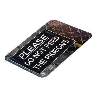 Ímã Por favor não alimente aos pombos a Nova Iorque