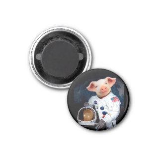 Imã Porco do astronauta - astronauta do espaço