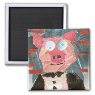 Imã Porco em Tux