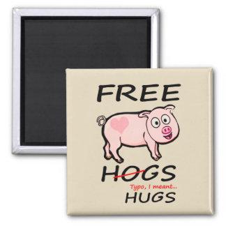 Imã Porcos e abraços livres