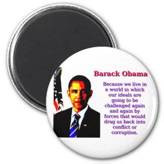 Imã Porque nós vivemos em um mundo - Barack Obama