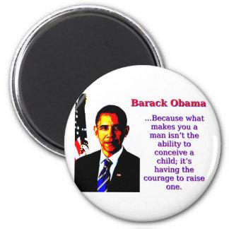 Imã Porque o que lhe faz um homem - Barack Obama