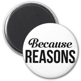 Imã Porque razões