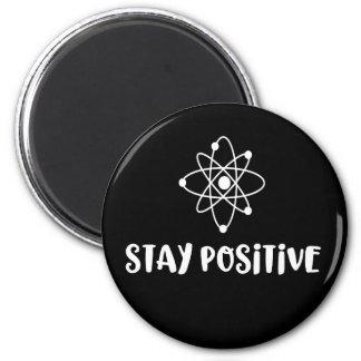 Imã Positividade científica engraçada positiva da