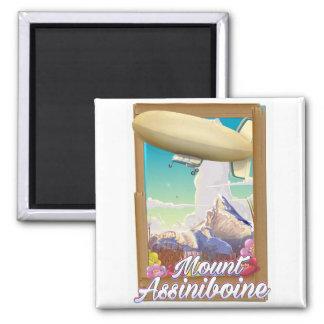 Imã Poster das férias do dirigível de Assiniboine da
