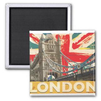 Imã Poster de Londres do vintage