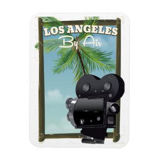 Ímã Poster de viagens da câmera de filme de Los
