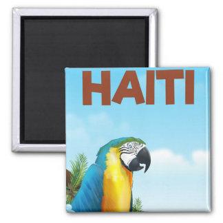 Imã Poster de viagens de Haiti