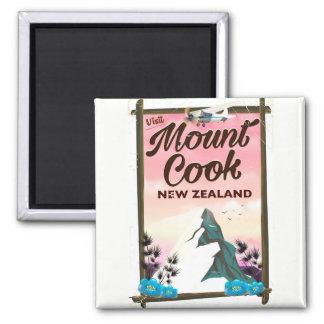 Imã Poster de viagens de Nova Zelândia do cozinheiro
