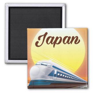 Imã Poster de viagens do trem de bala de Japão