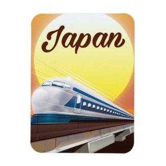Ímã Poster de viagens do trem de bala de Japão