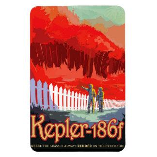 Ímã Poster futuro de Sci Fi do viagem da NASA - Kepler