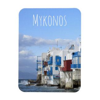 Ímã Pouca Veneza, Mykonos, piscina