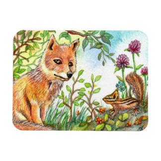 Ímã Poucos Fox e Chipmunk