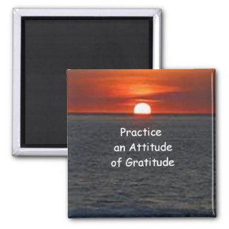 Imã Pratique uma atitude da gratitude