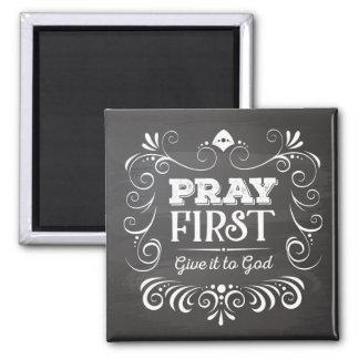 Imã Pray dão-no primeiramente ao ímã do deus