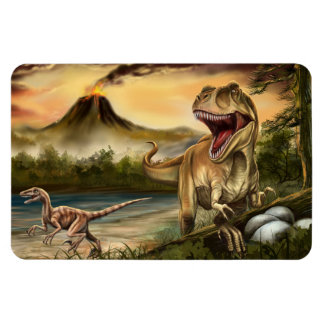 Ímã predador de Flexi dos dinossauros