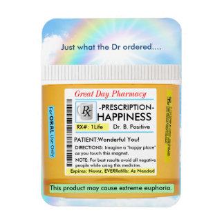 Ímã Prescrição para a felicidade
