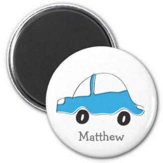 Imã Presentes azuis personalizados do bebê do carro do