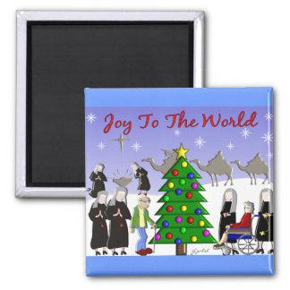 Nun Art Christmas Scene Gifts