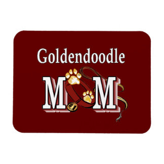 Ímã Presentes da mamã de Goldendoodle