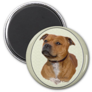 Imã Presentes de Staffordshire bull terrier