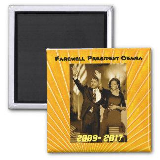 Imã Presidente Obama e primeira senhora Michelle Obama