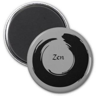 Ímã preto/cinzento do zen ímã redondo 5.08cm