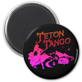 Imã Preto do ímã do tango de Teton