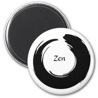 Ímã preto do zen ímã redondo 5.08cm