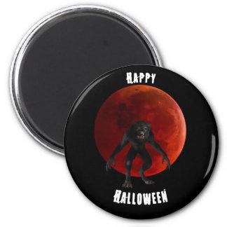Imã Preto vermelho do Dia das Bruxas da lua do sangue
