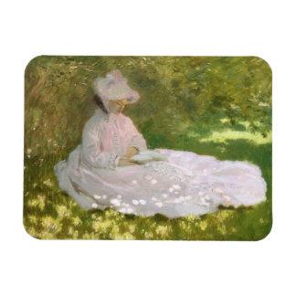 Ímã Primavera por Claude Monet