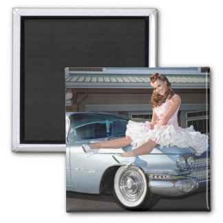 Imã Princesa 1959 do cadillac do transportador Pin