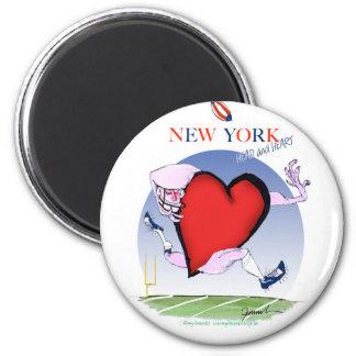 Imã Principais de New York e coração, fernandes tony