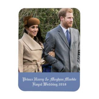 Ímã Príncipe Harry & casamento real 2018 de Meghan