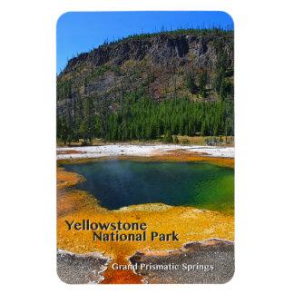 Ímã ~ prismático grande Yellowstone dos primaveras,