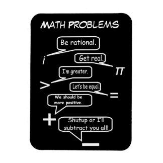 Ímã Problemas de matemática engraçados