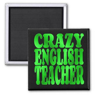 Imã Professor de inglês louco no verde