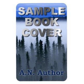 Ímã Promoção do escritor/autor: Exposição da capa do
