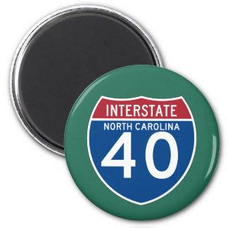 Imã Protetor da estrada nacional de North Carolina NC