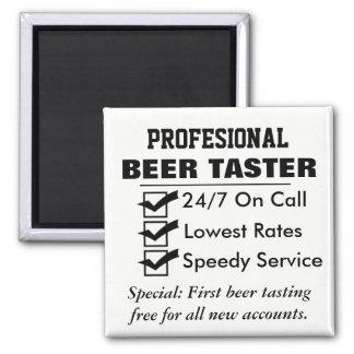 Imã Provador profissional engraçado da cerveja