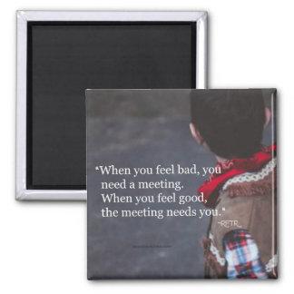 Imã Quando você precisar um ímã da reunião