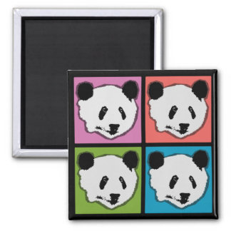 Imã Quatro ursos de panda gigante