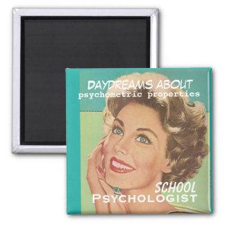 Imã Que psicólogos da escola Daydream sobre o ímã