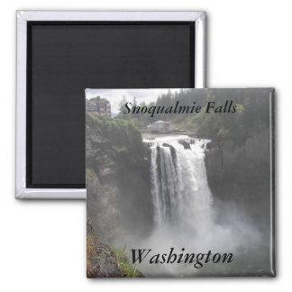 Imã Quedas de Snoqualmie, foto do viagem de Washington