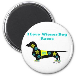 Imã Raças do cão do Wiener