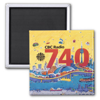 Imã Rádio 740 - do CBC gráfico 1980 do promo